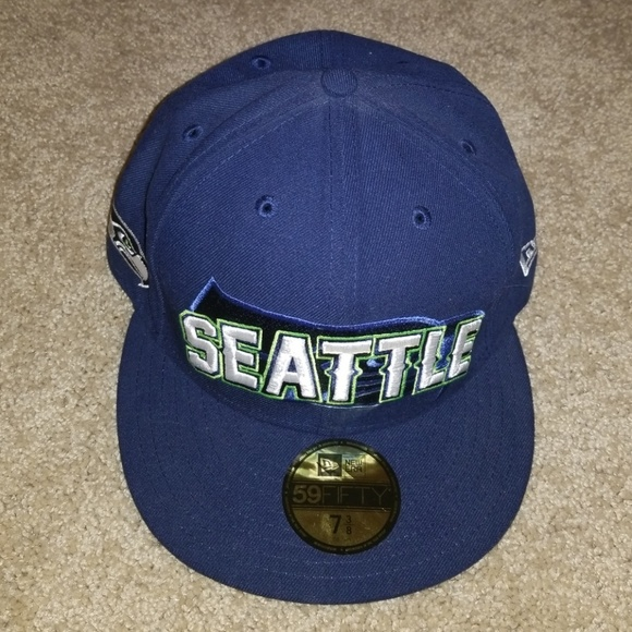 New Era Seattle Seahawk Fitted Hat 90e980af6